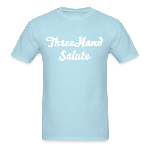 ThreeHandSalute Blue Shirt - Men's T-Shirt