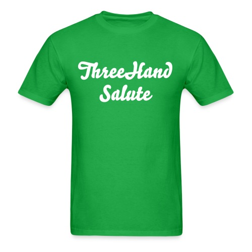ThreeHandSalute Green Shirt - Men's T-Shirt
