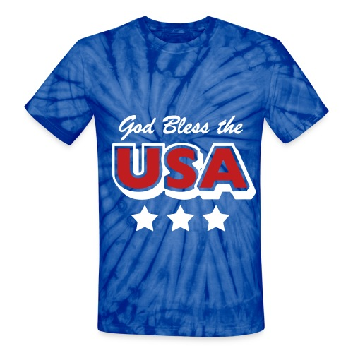 USA - Unisex Tie Dye T-Shirt