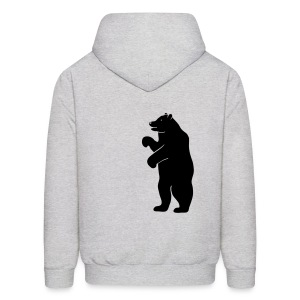 t-shirt bear beer berlin  strong hunter hunting wilderness grizzly predator animal t-shirt - Men's Hoodie