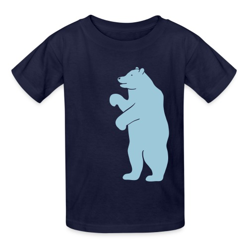 t-shirt bear beer berlin  strong hunter hunting wilderness grizzly predator animal t-shirt - Kids' T-Shirt
