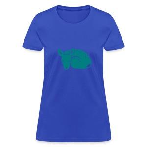 t-shirt fawn kid deer timid cute bambi animal baby - Women's T-Shirt