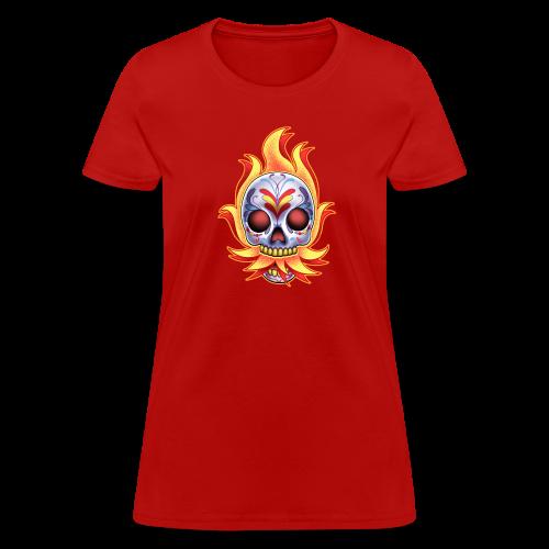 C-120 DoD Fire Skull Women's T - Women's T-Shirt