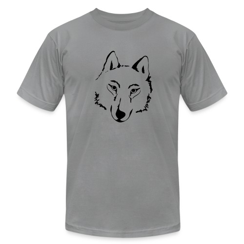 t-shirt wolf pack wolves howling wild animal - Men's  Jersey T-Shirt