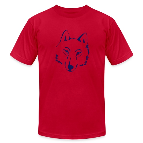 t-shirt wolf pack wolves howling wild animal - Men's Fine Jersey T-Shirt