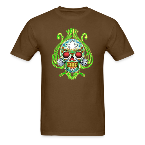C-120 DoD Fire Skull Tee - Men's T-Shirt