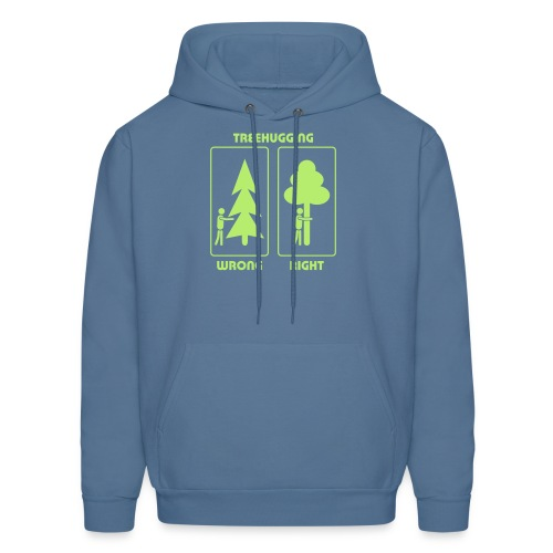 t-shirt treehugging tree hug treehugger trees forest natur - Men's Hoodie