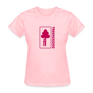 t-shirt treehugging tree hug treehugger trees forest natur - Women's T-Shirt