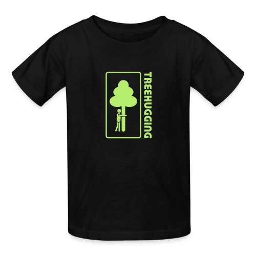 t-shirt treehugging tree hug treehugger trees forest natur - Kids' T-Shirt