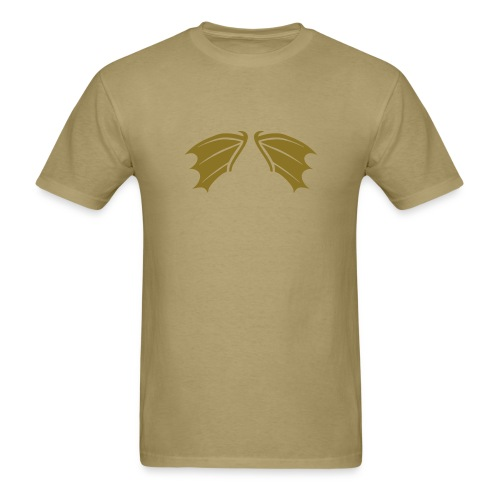 t-shirt bat wings vampire night halloween dracula blood - Men's T-Shirt