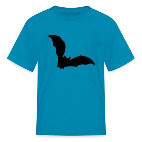t-shirt bat wings vampire night halloween dracula blood - Kids' T-Shirt