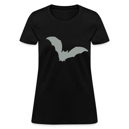 t-shirt bat wings vampire night halloween dracula blood - Women's T-Shirt