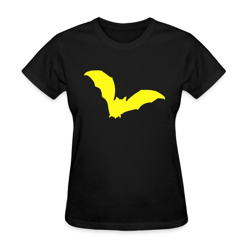 t-shirt bat wings vampire night halloween dracula blood - Women's T-Shirt