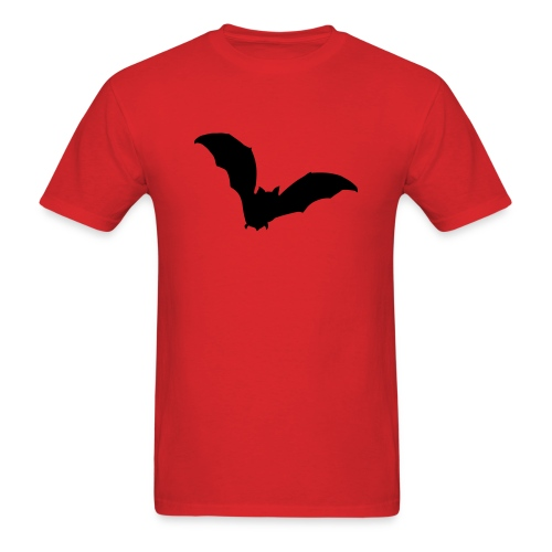 t-shirt bat wings vampire night halloween dracula blood - Men's T-Shirt