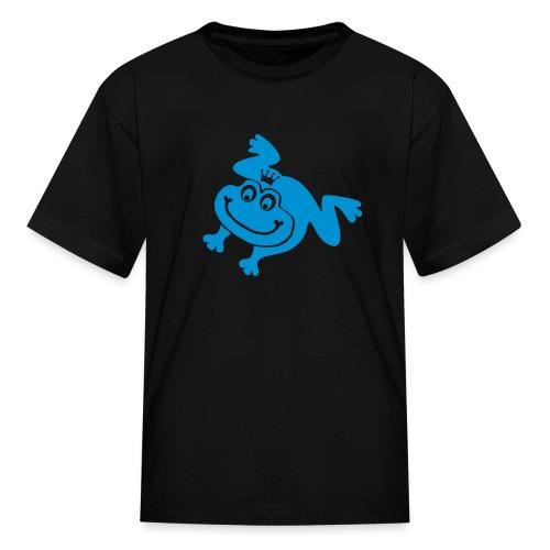 t-shirt frog princess prince kiss me toad squib paddock pout frogmouth mouth lips - Kids' T-Shirt
