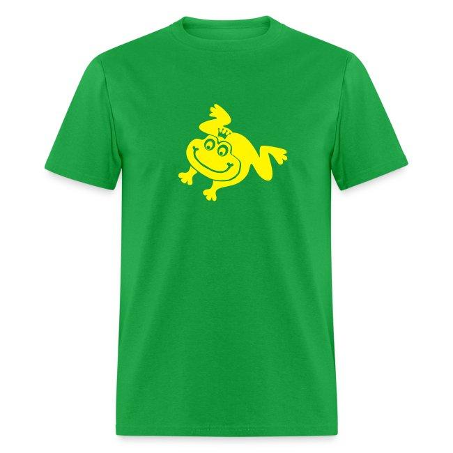 t-shirt frog princess prince kiss me toad squib paddock pout frogmouth mouth lips