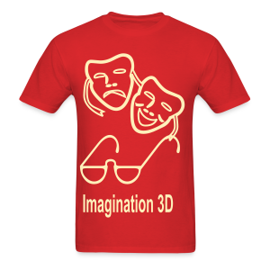3D Imagination - Men's T-Shirt