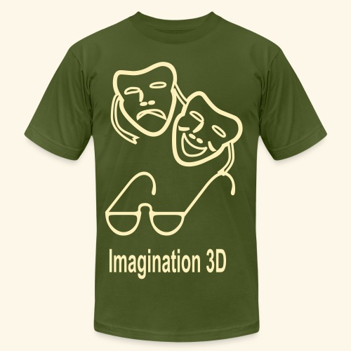 3D Imagination - Men's  Jersey T-Shirt