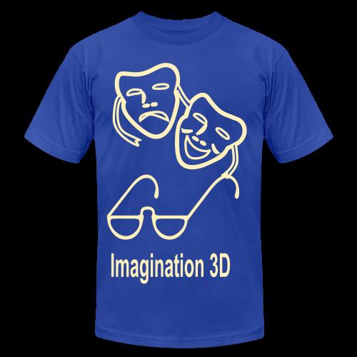 3D Imagination - Men's Fine Jersey T-Shirt