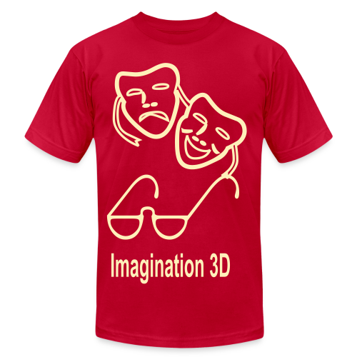 3D Imagination - Men's Fine Jersey T-Shirt