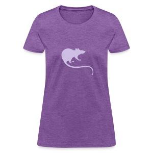 t-shirt rat rats duo ratty mouse mice animal - Women's T-Shirt
