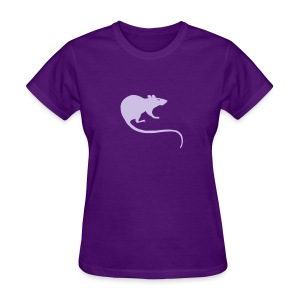 t-shirt rat rats duo ratty mouse mice animal - Women's T-Shirt