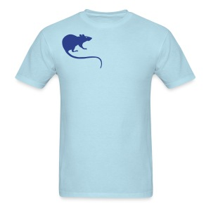 t-shirt rat rats duo ratty mouse mice animal - Men's T-Shirt
