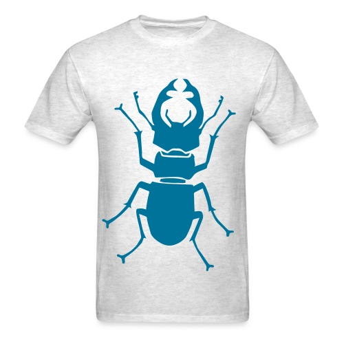 t-shirt stag beetle deer moose elk antler antlers insect stag night bachelor party - Men's T-Shirt