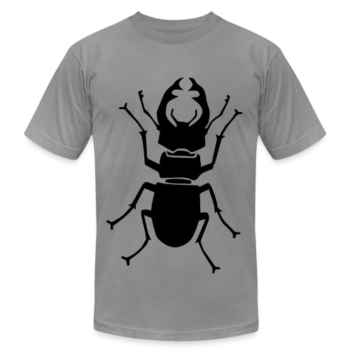 t-shirt stag beetle deer moose elk antler antlers insect stag night bachelor party - Men's  Jersey T-Shirt