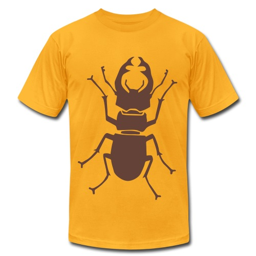 t-shirt stag beetle deer moose elk antler antlers insect stag night bachelor party - Men's Fine Jersey T-Shirt