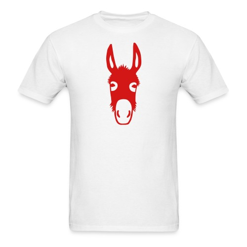 t-shirt donkey mule horse muli pony animal t-shirt - Men's T-Shirt