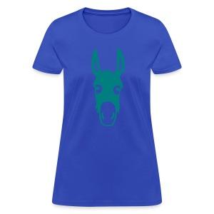 t-shirt donkey mule horse muli pony animal t-shirt - Women's T-Shirt