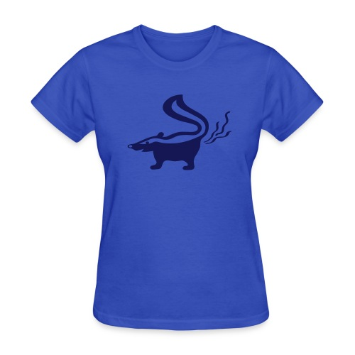 t-shirt skunk animal stinker skunkish - Women's T-Shirt