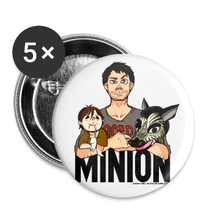 Misha Collins [Minion] (DESIGN BY KARINA) - Large Buttons