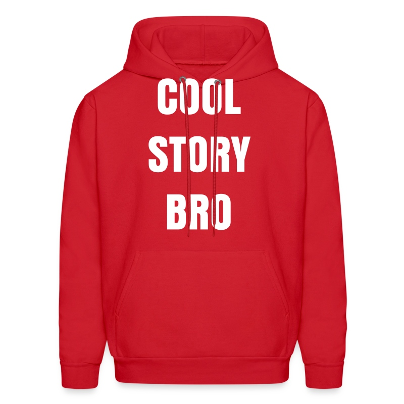 Men Cool Story Bro Sweatshirt - Men's Hoodie