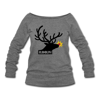 rudolph with light on is nose REINDEER Long Sleeve Shirts