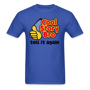 Men Cool Story Bro Shirt - Men's T-Shirt