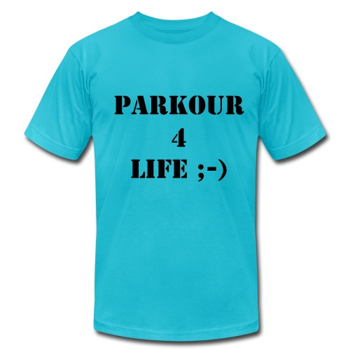 Parkour 4 Life - Men's Fine Jersey T-Shirt