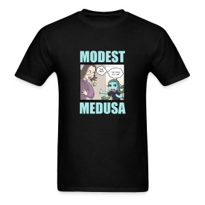 Medusa has discovered the truth! - Men's T-Shirt