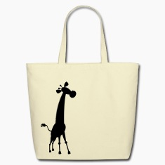 giraffe cute shape Bags