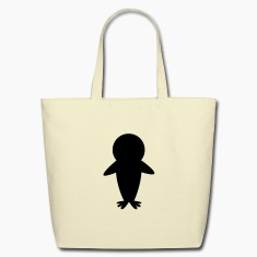 cute kawaii penguin Bags