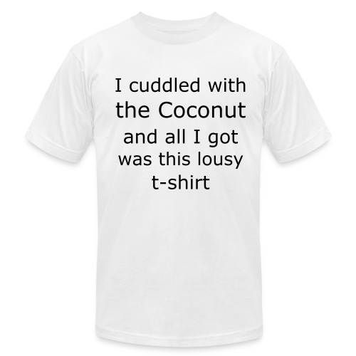 Coconut Cuddle Buddy - Men's  Jersey T-Shirt