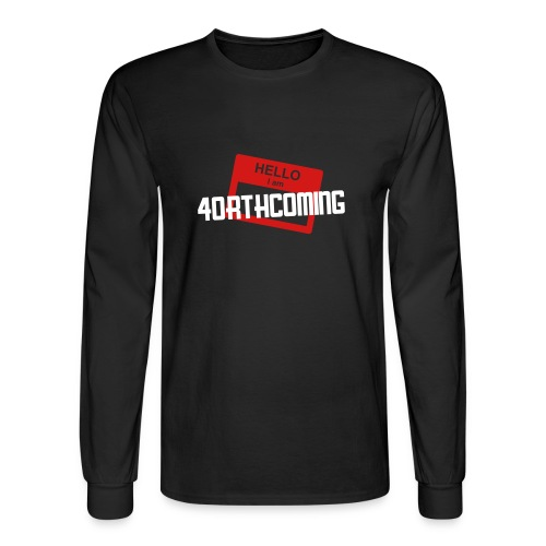 4orthcoming - My Name Is - Men's Long Sleeve T-Shirt