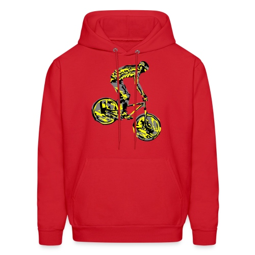 Mountain Bike Hoodie - Dirt Bike Design - Men's Hoodie