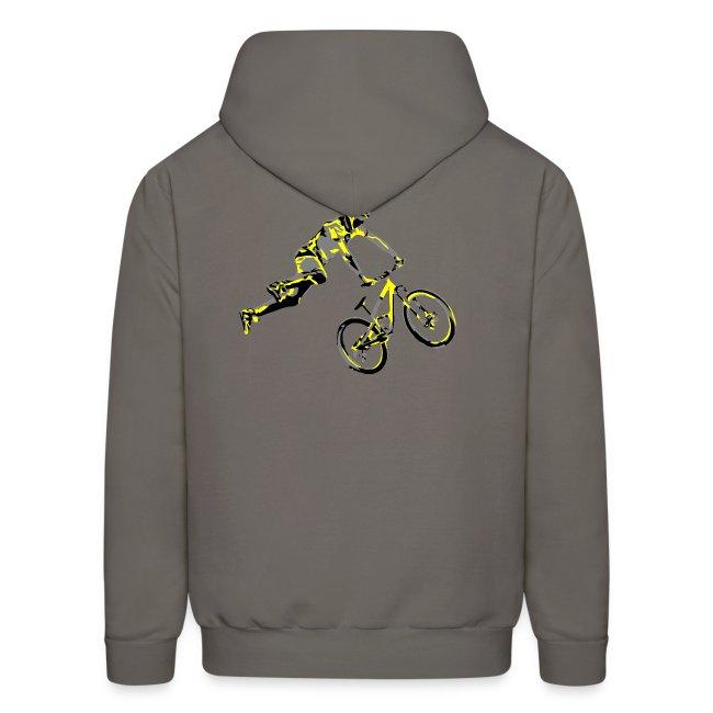 Mountain Bike Hoodie - Dirt Bike Design