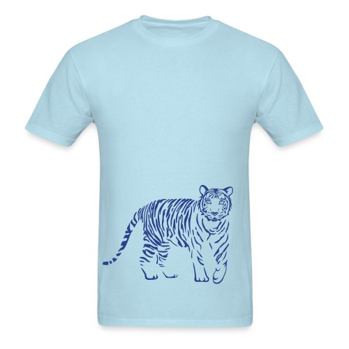 t-shirt tiger cat cheetah lion wild predator hunter hunting - Men's T-Shirt
