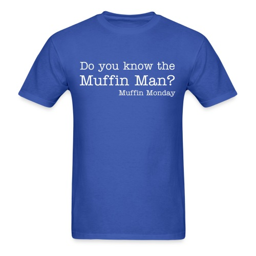 Muffin Man - Men's Standard Weight T-Shirt - Men's T-Shirt