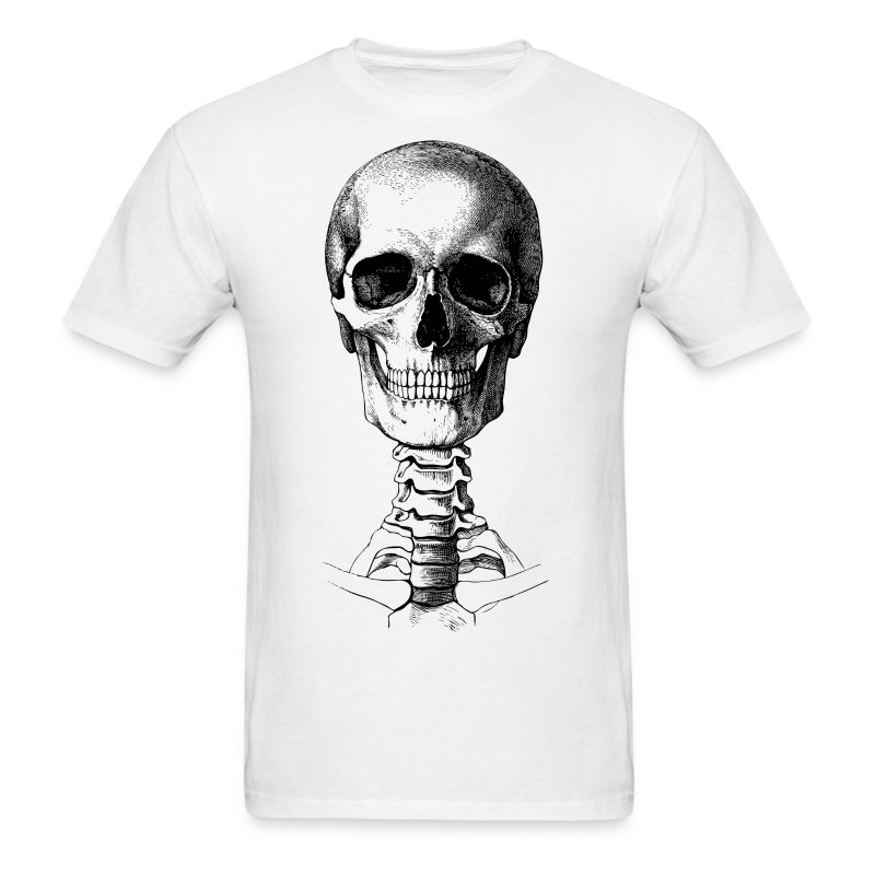 Skull Spine Hd Pixel Design T Shirt Spreadshirt