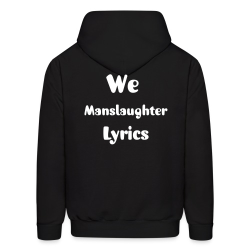 Lyrical Manslaughter Black Hoodie - Men's Hoodie