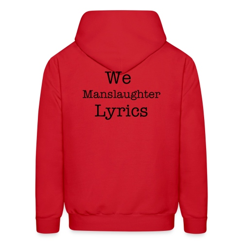 Lyrical Manslaughter Red Hoodie - Men's Hoodie